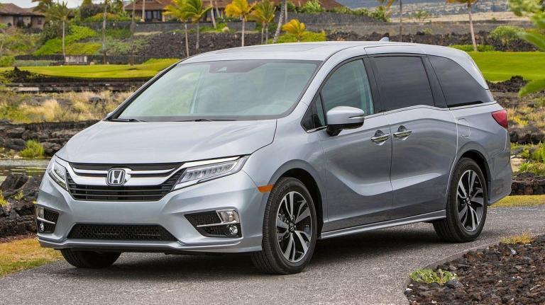 Honda-Odyssey-2018-short-circuit-fire