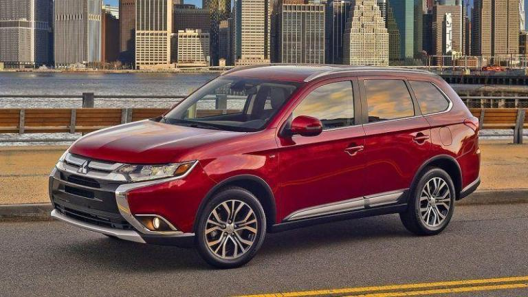 Mitsubishi-Outlander-2016-recall-parking-brake