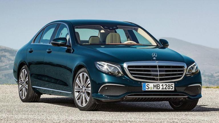 Mercedes-Benz-E-class-turbo-oil-fuga-fuego