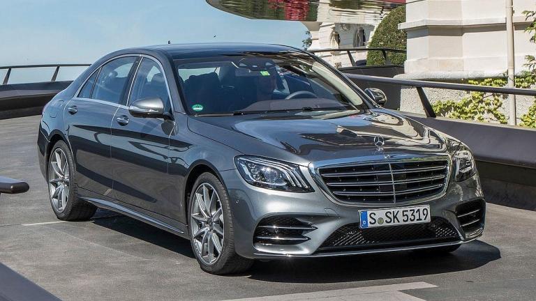 Mercedes-Benz-S-class-turbo-oil-leak-fire