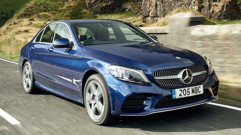Mercedes-Benz-C-Class-2019-oil-leak