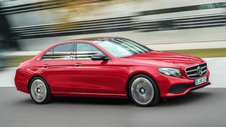 Mercedes-Benz-Classe E-2018-fuite-de-carburant
