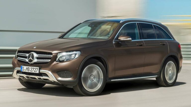 Mercedes-Benz-GLC-leaking-refrigerant