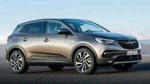 Opel-Grandland-trailer-coupling-device